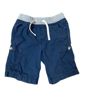 Or Navy navy shorts with stretch waist